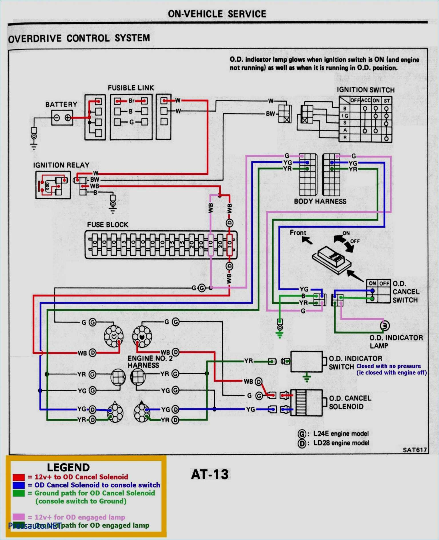 7 Wire Trailer Harness Diagram - Wiring Diagrams - 7 Prong Trailer Plug Wiring Diagram