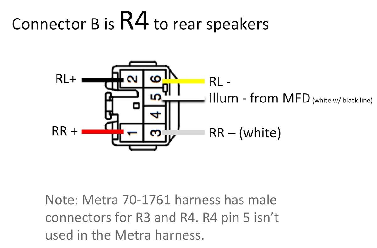 70 1761 Wiring Diagram | Wiring Diagram - Metra 70-1761 Wiring Diagram