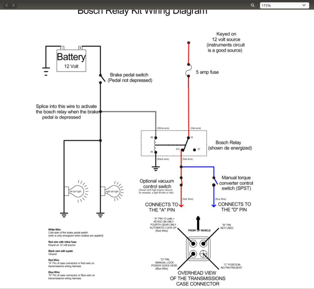 700R4 Lockup Wiring Diagram | Manual E-Books - 700R4 Lockup Wiring Diagram