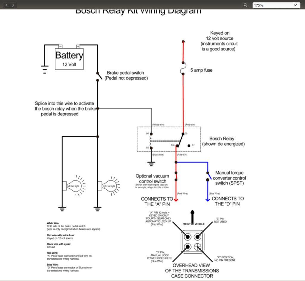 700R4 Lockup Wiring Diagram | Manual E-Books - 700R4 Lockup Wiring Diagram