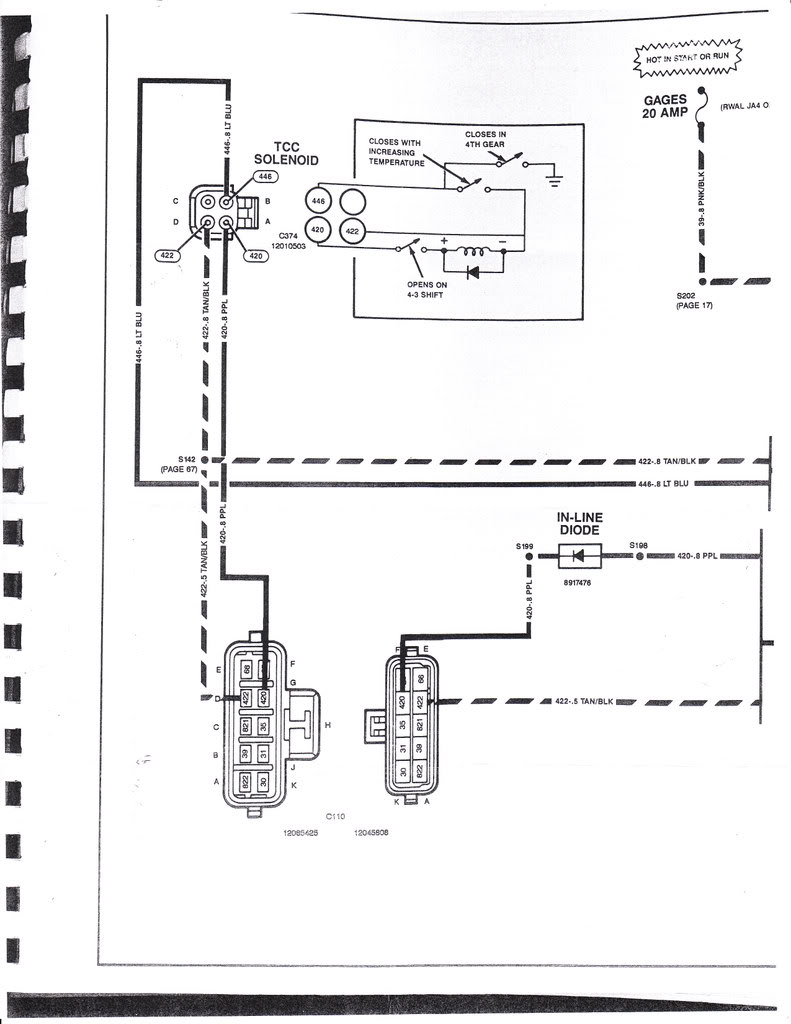 700R4 Lockup Wiring Harness | Manual E-Books - 700R4 Lockup Wiring Diagram