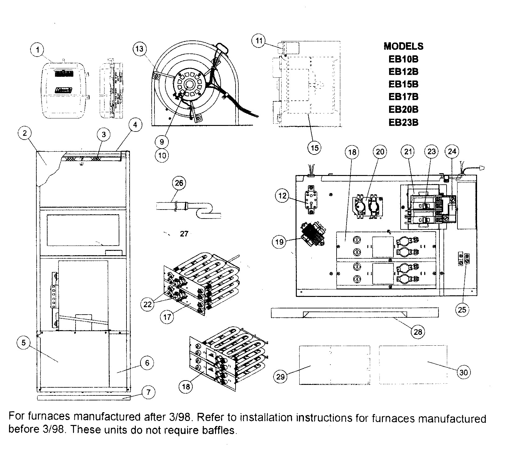 7680B 0 00 Mobile Home Furnace Supply Your Throughout Coleman Gas - Coleman Mobile Home Electric Furnace Wiring Diagram