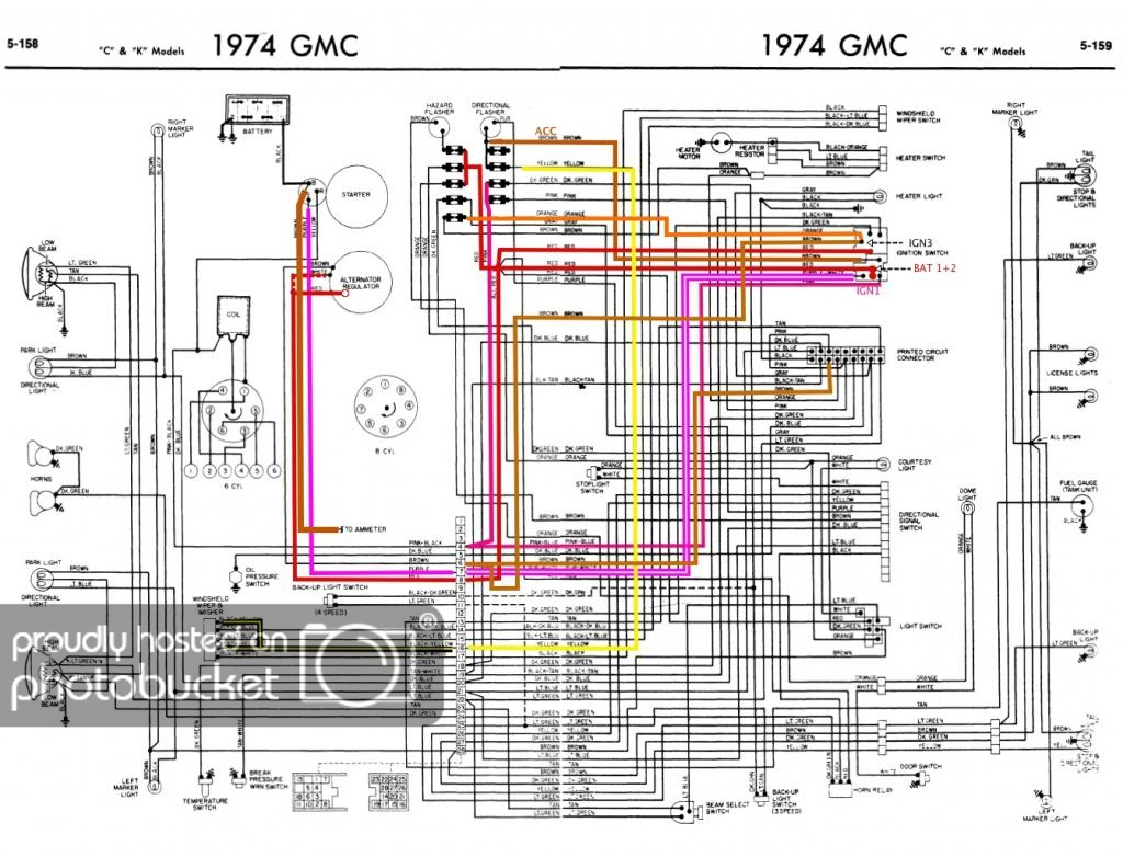 77 Gmc Wiring | Wiring Diagram - Chevy Alternator Wiring Diagram