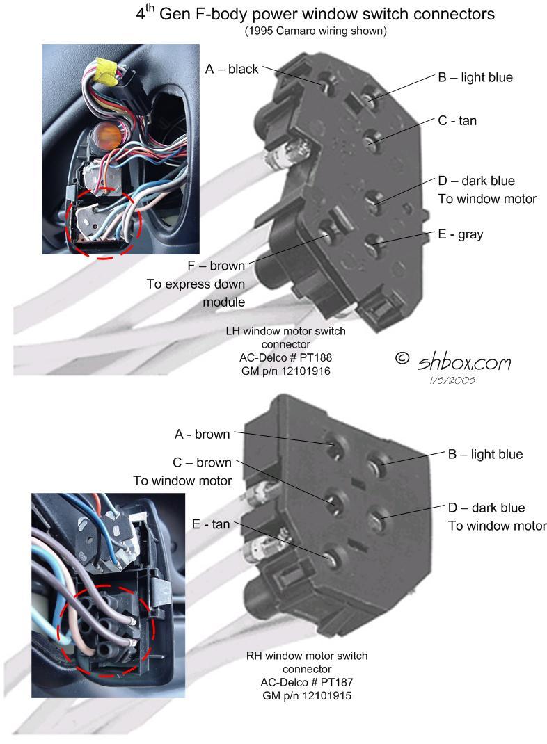 84 Chevy Power Window Wiring Diagram | Manual E-Books - Power Window Wiring Diagram Chevy