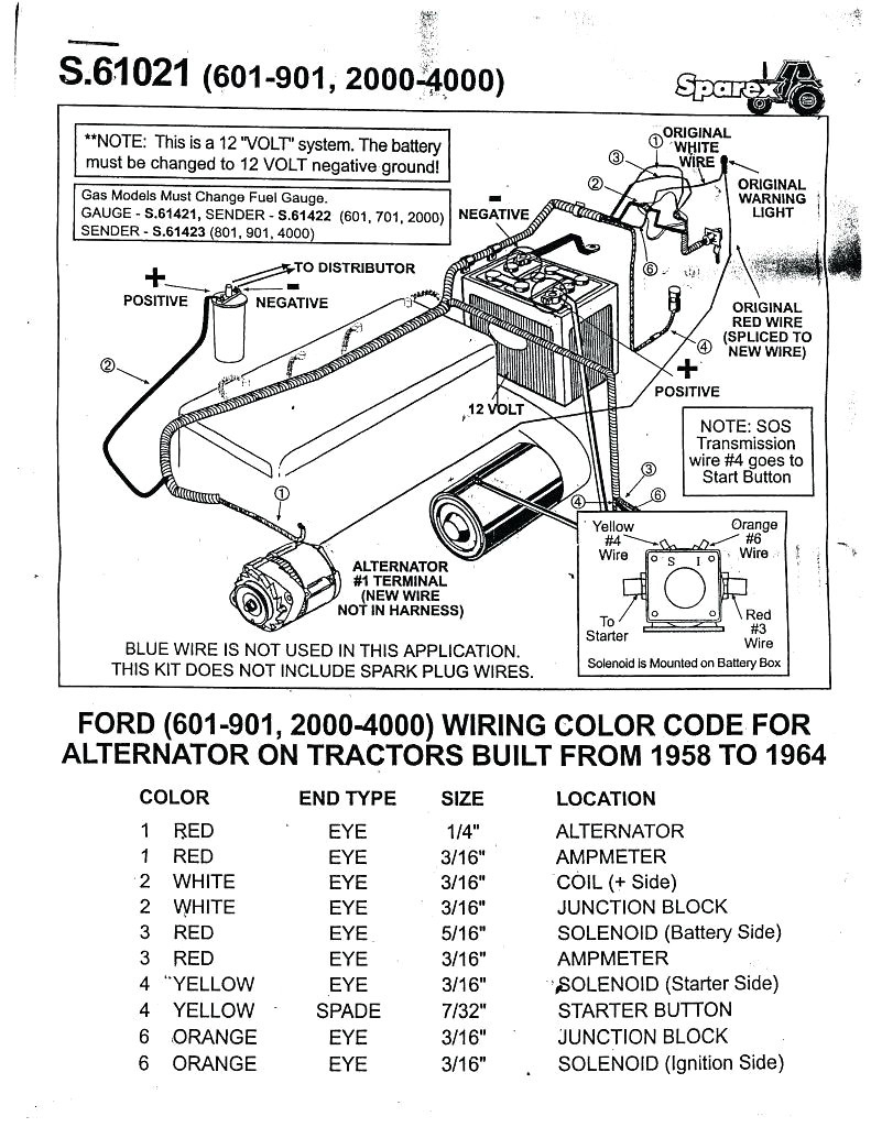 8N Ford Tractor Wiring Diagram 6 Volt | Switch Wiring Diagram Free - 8N Ford Tractor Wiring Diagram