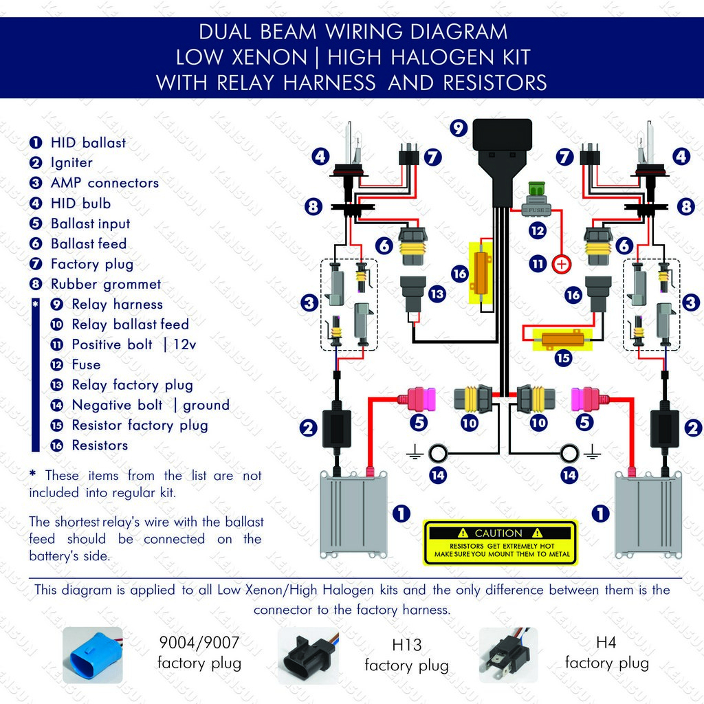 Enjoyable 9007 Hid Bulb Wiring Schematic Diagram Download Wiring 101 Cranwise Assnl