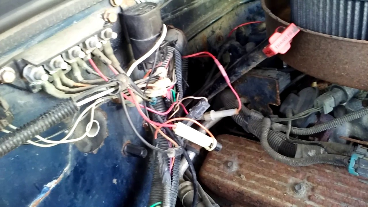 93 Chevy 1500 No Power To Fuel Pump - Youtube - 1993 Chevy 1500 Fuel Pump Wiring Diagram