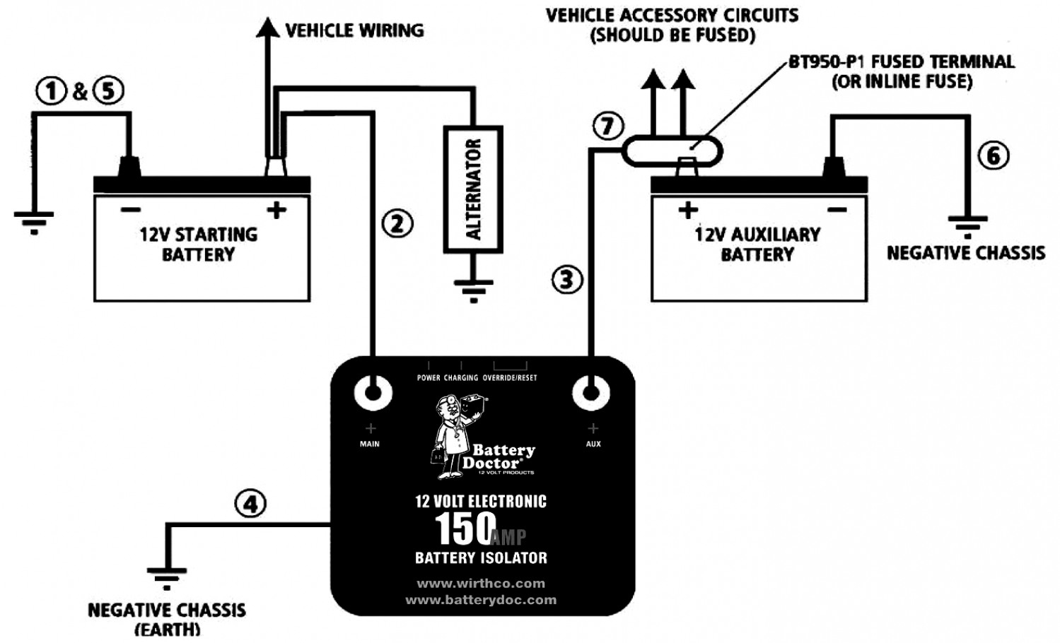 99 Chevy Battery Isolator Wiring - All Wiring Diagram Data - 12V Battery Isolator Wiring Diagram