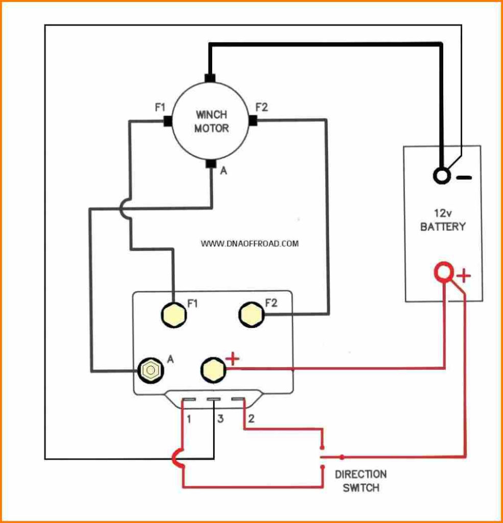 Winch Motor Wiring Diagram -