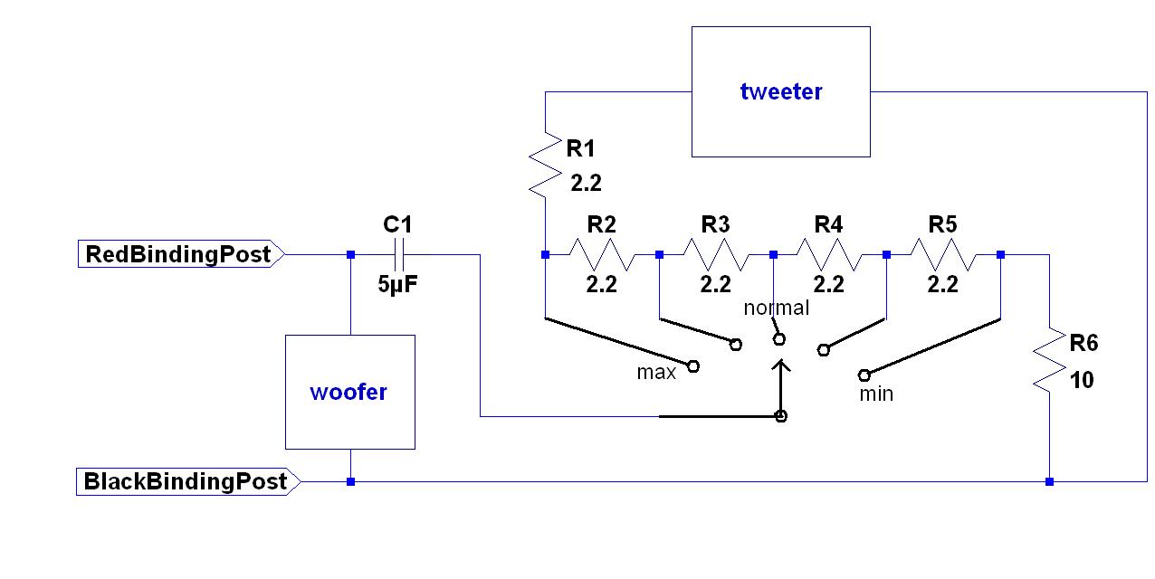 A25 Loudspeaker - Speaker And Tweeter Wiring Diagram