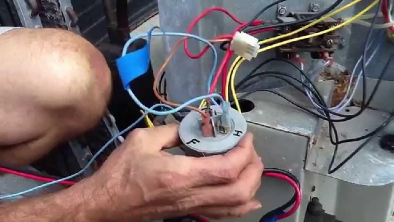Ac Capacitor Wiring - Wiring Diagrams Hubs - Run Capacitor Wiring Diagram