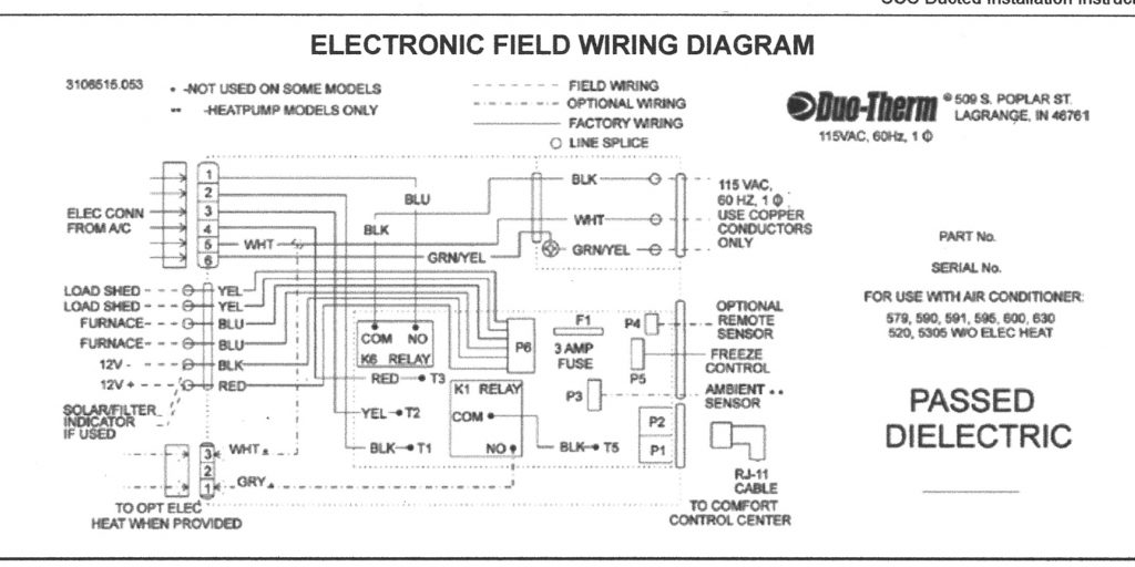 duo therm thermostat wiring diagram wirings diagram