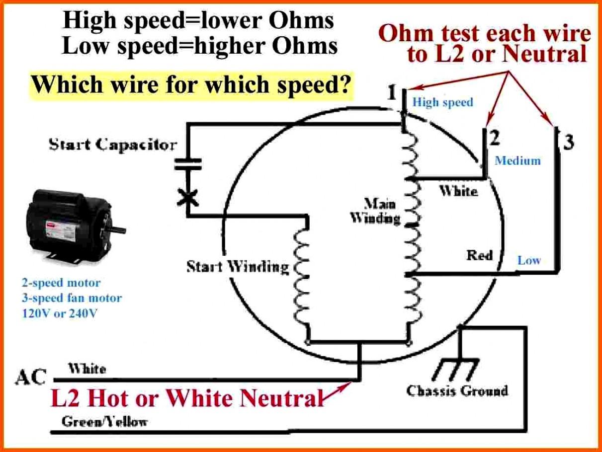 Ac Fan Wiring | Wiring Diagram - 3 Wire Condenser Fan Motor Wiring Diagram