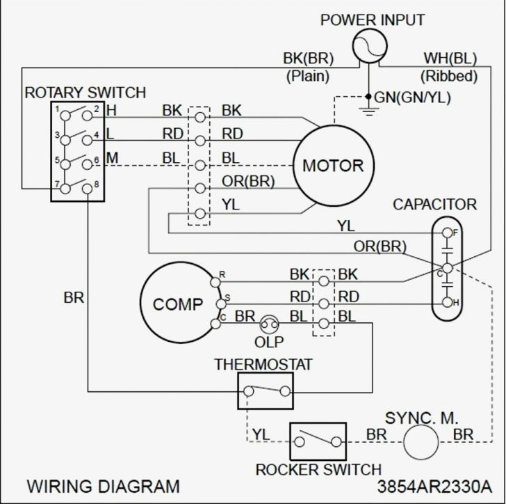 Ac Wiring Diagram Colors
