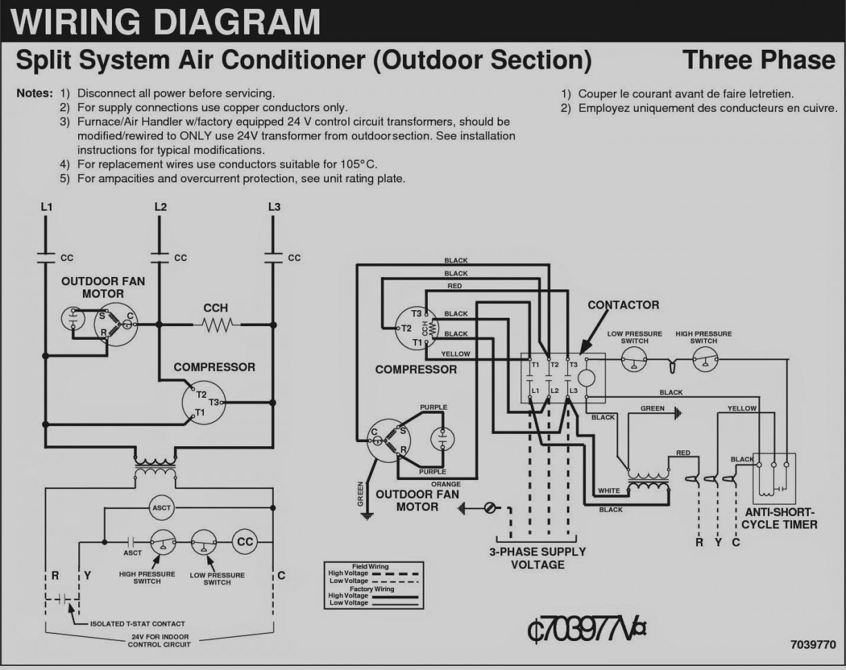 Ac Home Wiring | Wiring Library - Ac Condenser Wiring Diagram