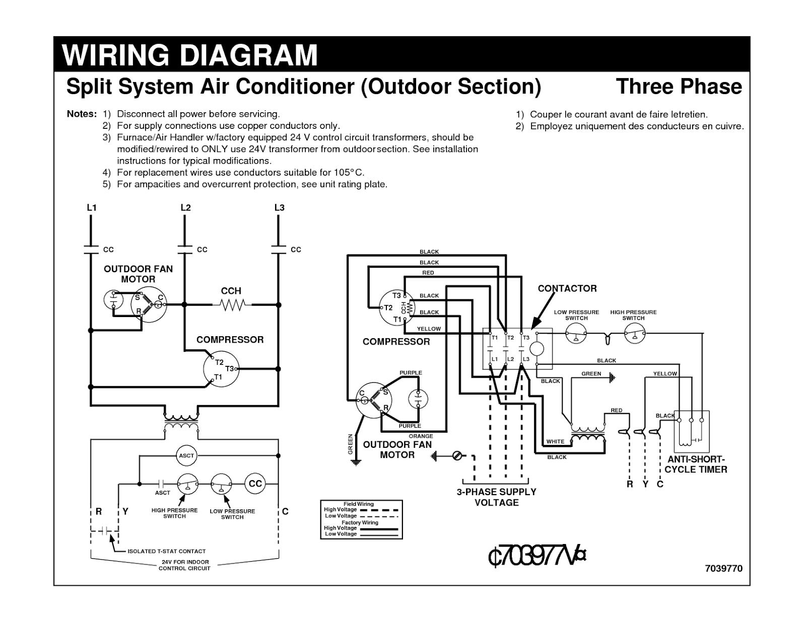 Ac Wire Diagram   Wiring Diagram - Air Conditioner Wiring Diagram Pdf