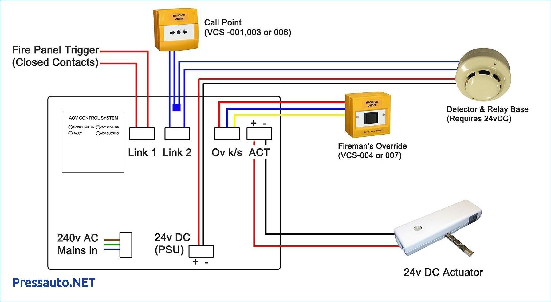 Addressable Smoke Detector Wiring Diagram | Wiring Diagram - Smoke Detector Wiring Diagram
