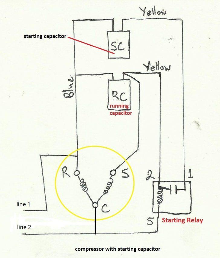 Ac Dual Capacitor Wiring Diagram