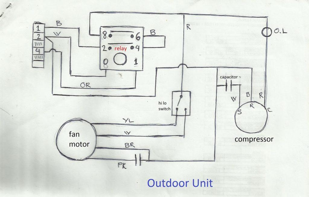 ac dual capacitor wiring diagram | wirings diagram turbo capacitor wiring  diagram on trailer wiring diagram
