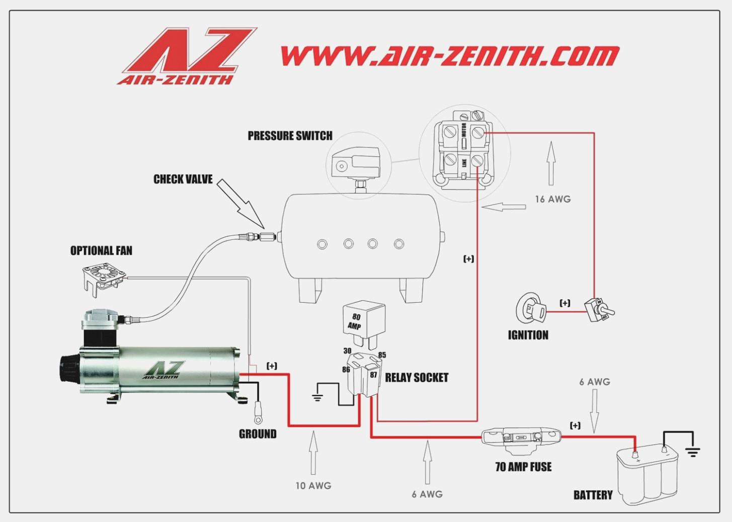 Air Compressor Wiring Diagram Schematic - Wiring Diagrams Hubs - Wiring Diagram For Air Compressor Motor