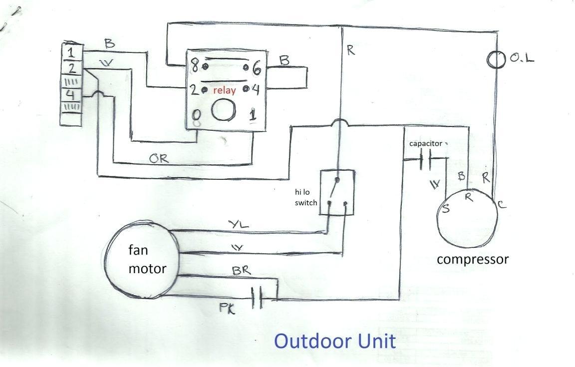 Air Conditioner Wiring Diagram Pdf - Hbphelp - Air Conditioner Wiring Diagram Pdf