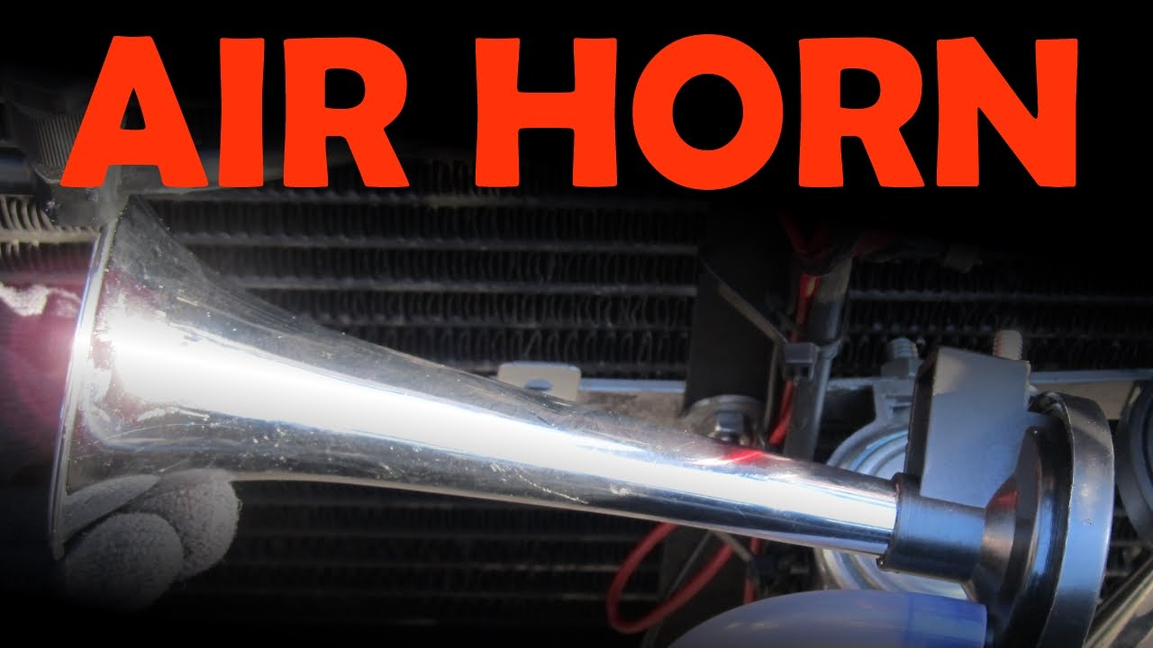 Air Horn Installation - Youtube - Air Horn Wiring Diagram