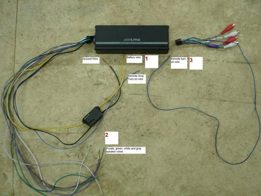Pleasant Alpine Ktp 445U Wiring Diagram Wirings Diagram Wiring 101 Akebretraxxcnl