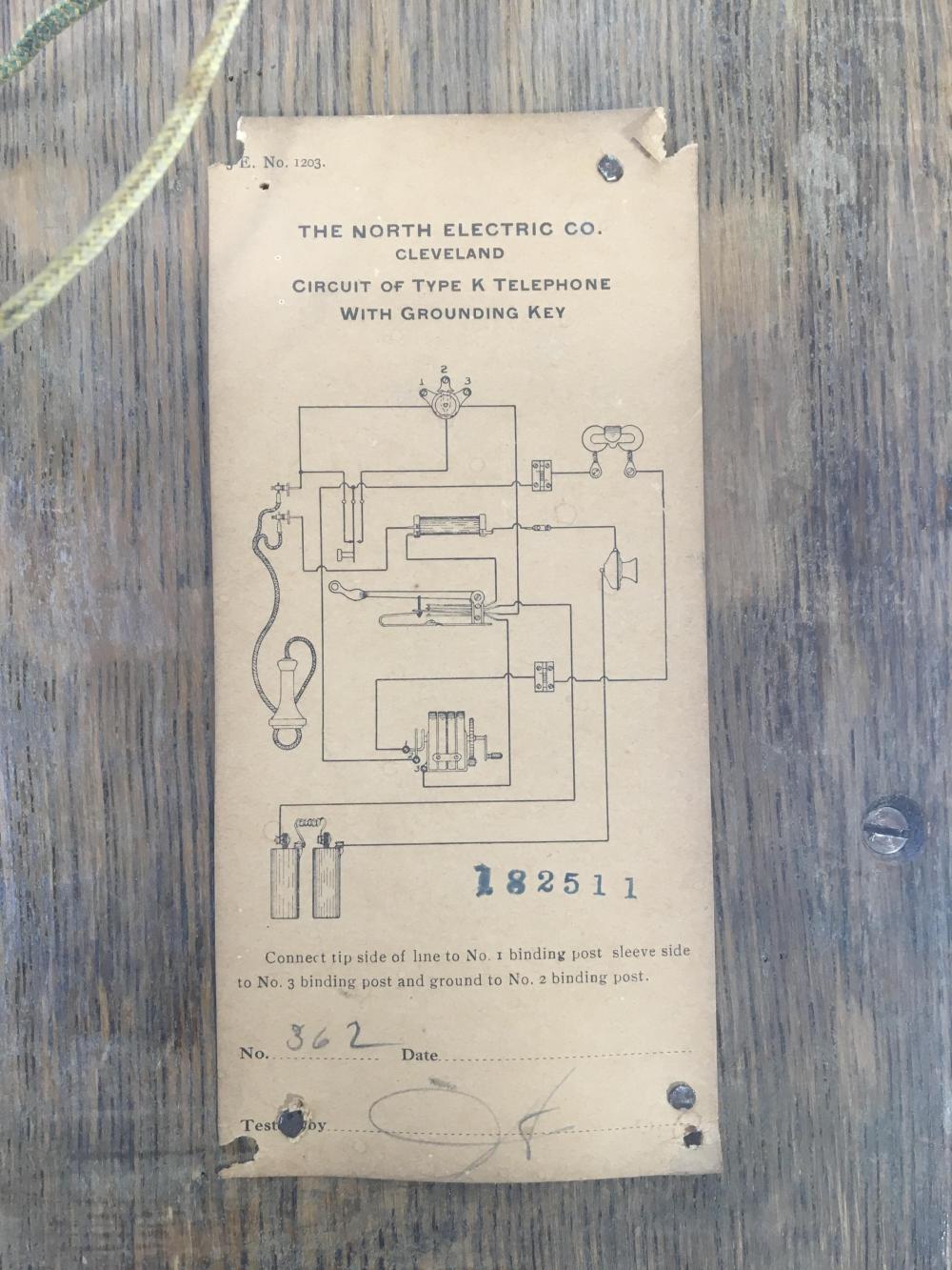 Antique Crank Phone Wiring Diagrams - Trusted Wiring Diagram Online - Old Telephone Wiring Diagram