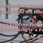 Appliance Repair   How To Read Schematics Diagram Kenmore/whirlpool   Kenmore Dryer Wiring Diagram