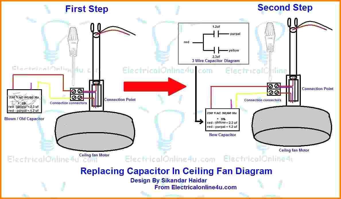 Arlec Ceiling Fans Wiring Diagram - Ceiling Fans Ideas - Ceiling Fan Wiring Diagram With Capacitor