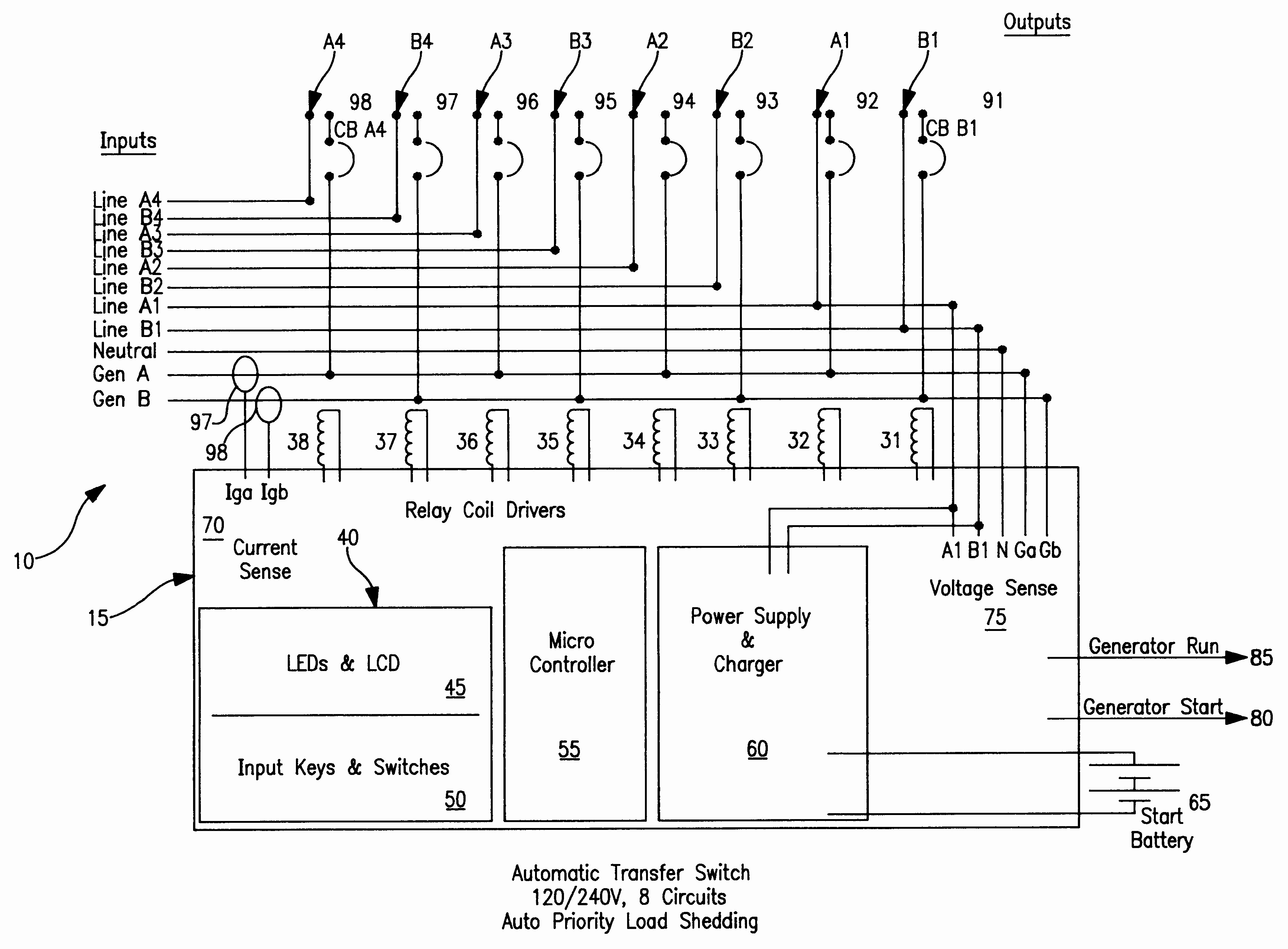 Asco 7000 Series Automatic Transfer Switch Wiring Diagram Reference - Generac Transfer Switch Wiring Diagram