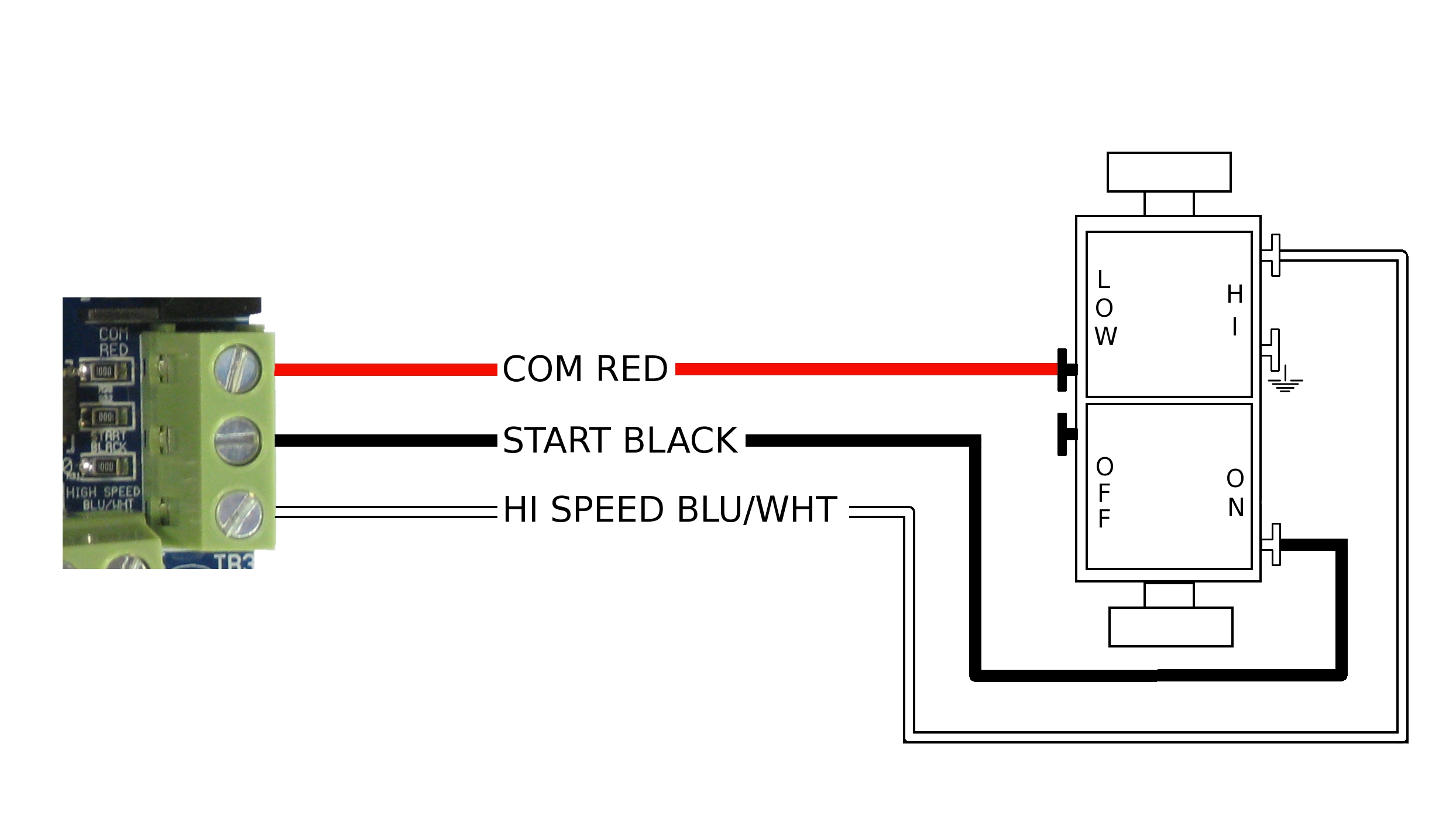 Attic Fan Switch Wiring Diagram Free Download | Manual E-Books - 2 Speed Whole House Fan Switch Wiring Diagram