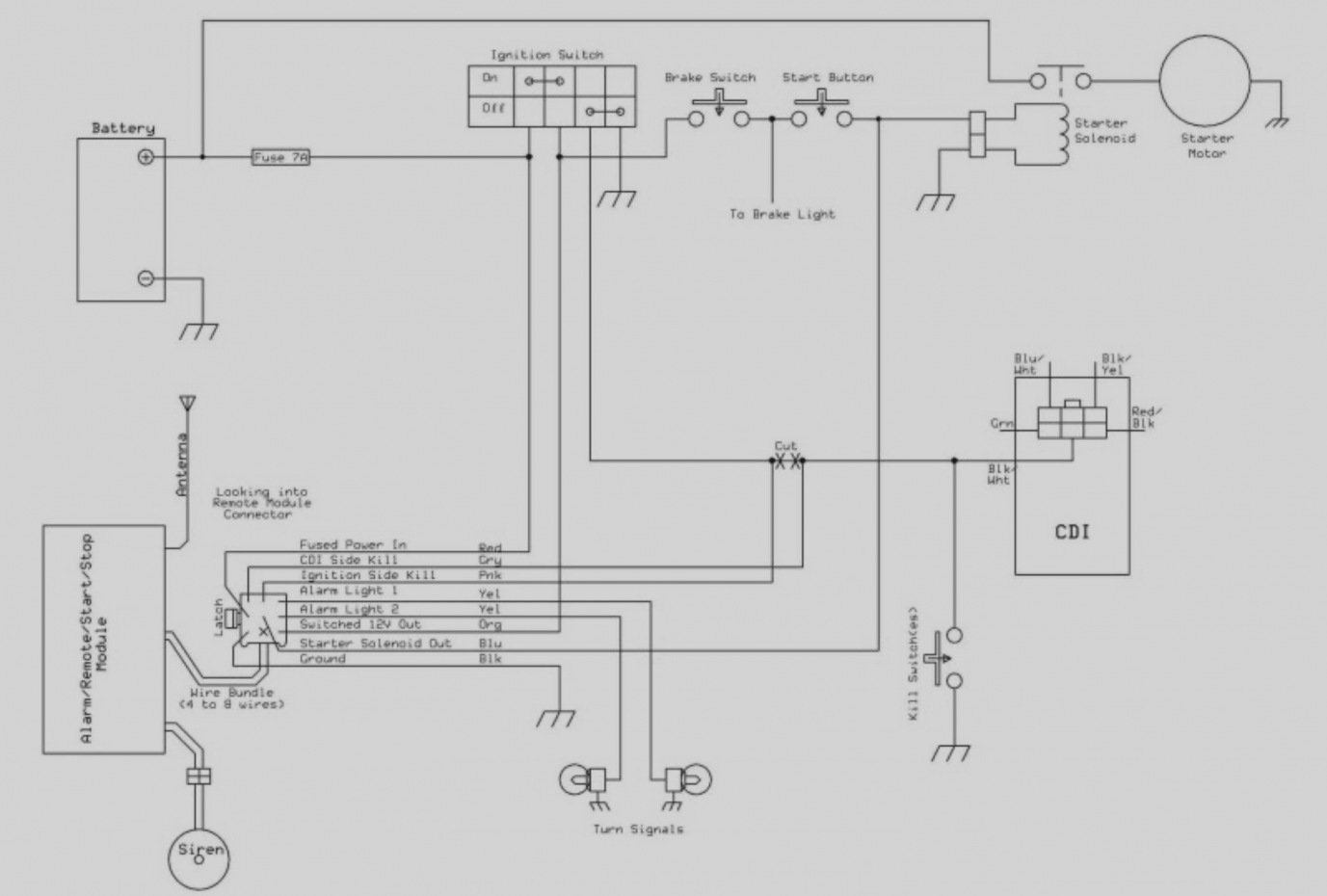 Atv Starter Wiring Diagram | Wiring Diagram - Atv Starter Solenoid Wiring Diagram