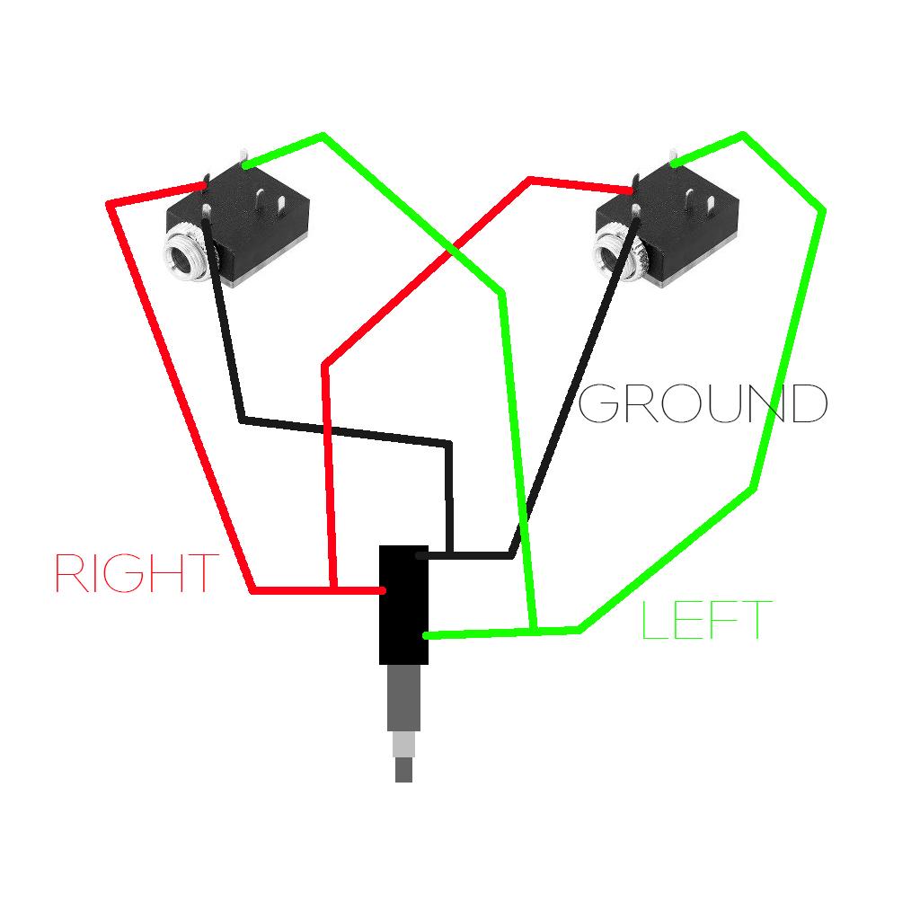 Audio Jack Wiring 3 5 Mm - Wiring Diagrams Hubs - 3.5 Mm Stereo Jack Wiring Diagram