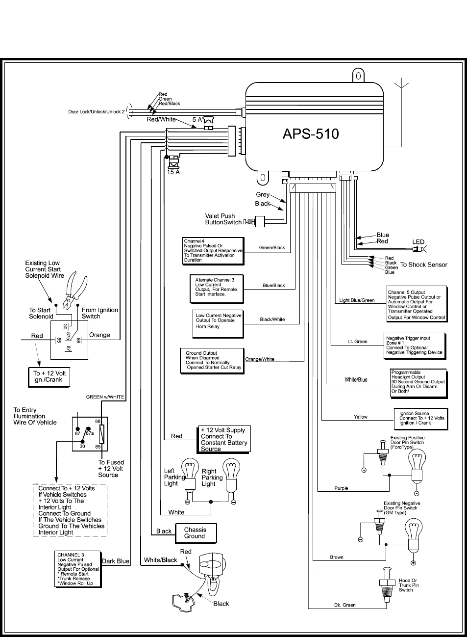 Audiovox Wiring Diagram | Wiring Diagram - Car Alarm Wiring Diagram