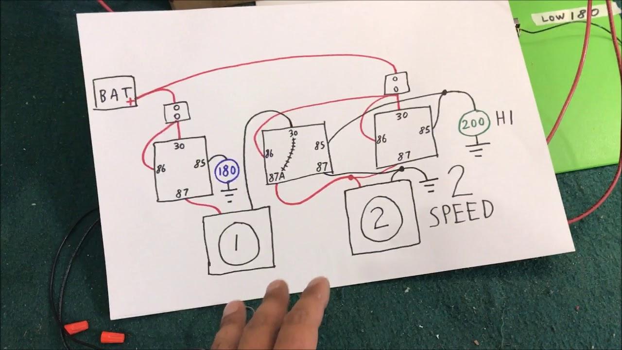 Auto Electric Cooling Fan Wiring How To Diy - Youtube - Electric Radiator Fan Wiring Diagram