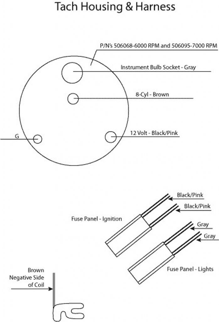 Admirable Autometer Tach Wiring Diagram Wirings Diagram Wiring 101 Capemaxxcnl