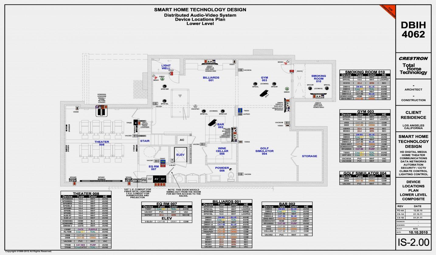 Av Wiring Diagram New Home - Wiring Diagram Data Oreo - Whole House Audio System Wiring Diagram