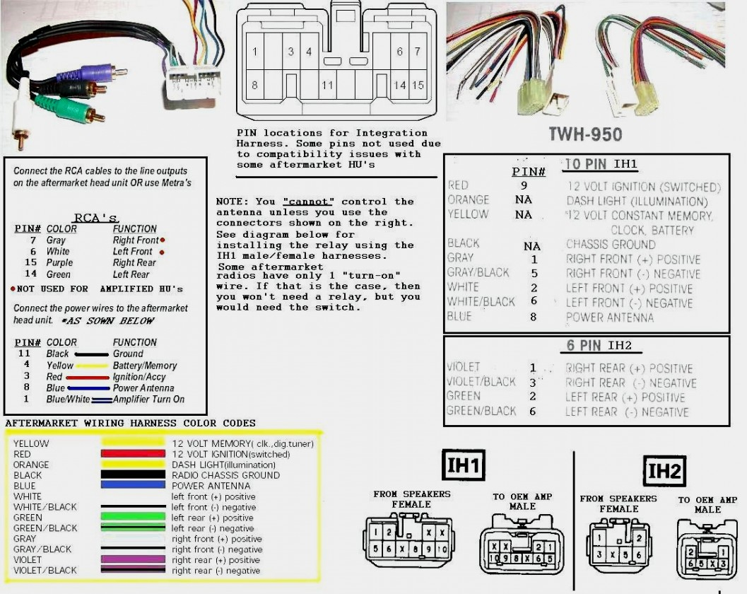 Avh P1400Dvd Pioneer Wiring Harness | Manual E-Books - Pioneer Avh-P1400Dvd Wiring Diagram