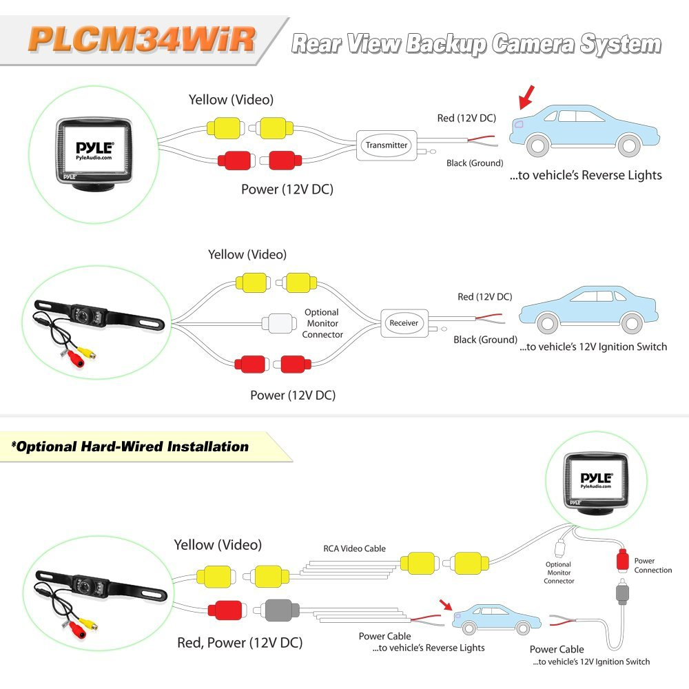 Backup Camera Wiring Diagram | Wiring Diagram - Backup Camera Wiring Diagram