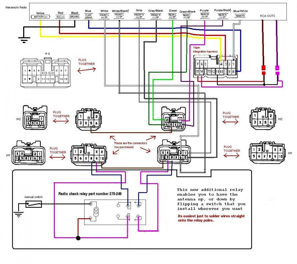 Basic Car Radio Wiring   Wiring Library - Pioneer Car Stereo Wiring Diagram Free