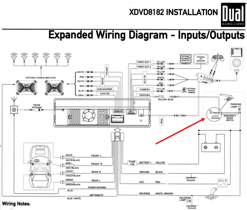 Basic Car Stereo Wiring Diagram Wiring Diagram 10 1 | Hastalavista - Car Radio Wiring Diagram