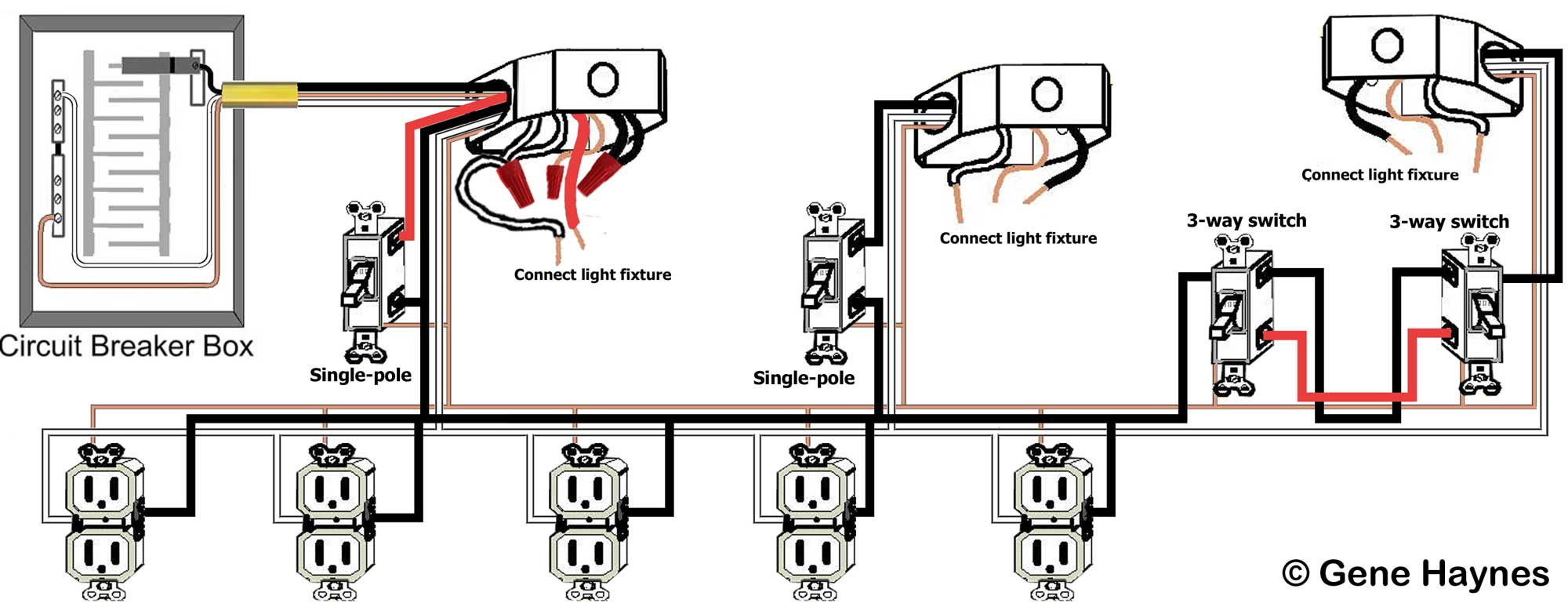 Basic Home Wiring Guide - Data Wiring Diagram Detailed - Basic House Wiring Diagram