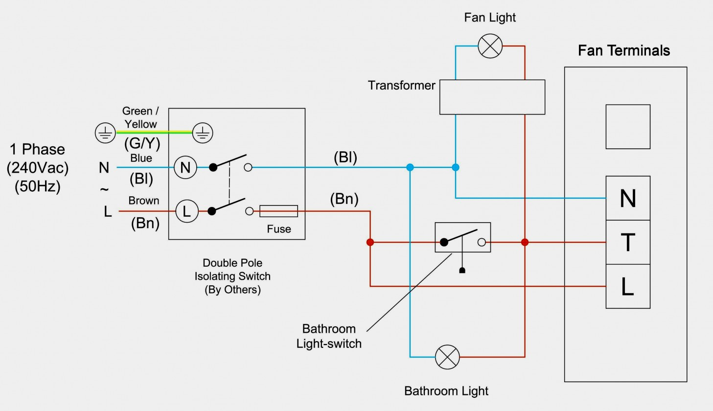 Bathroom Fan Isolator Switch Wiring Diagram - Schematics Wiring Diagram - Wiring A Bathroom Fan And Light Diagram