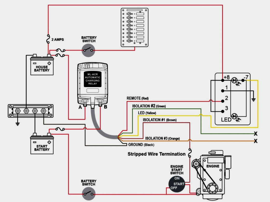 Battery Isolator Wiring Diagram Sp | Wiring Diagram - Dual Battery Isolator Wiring Diagram