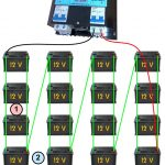 Battery Wiring Diagram | Microcare   Battery Wiring Diagram