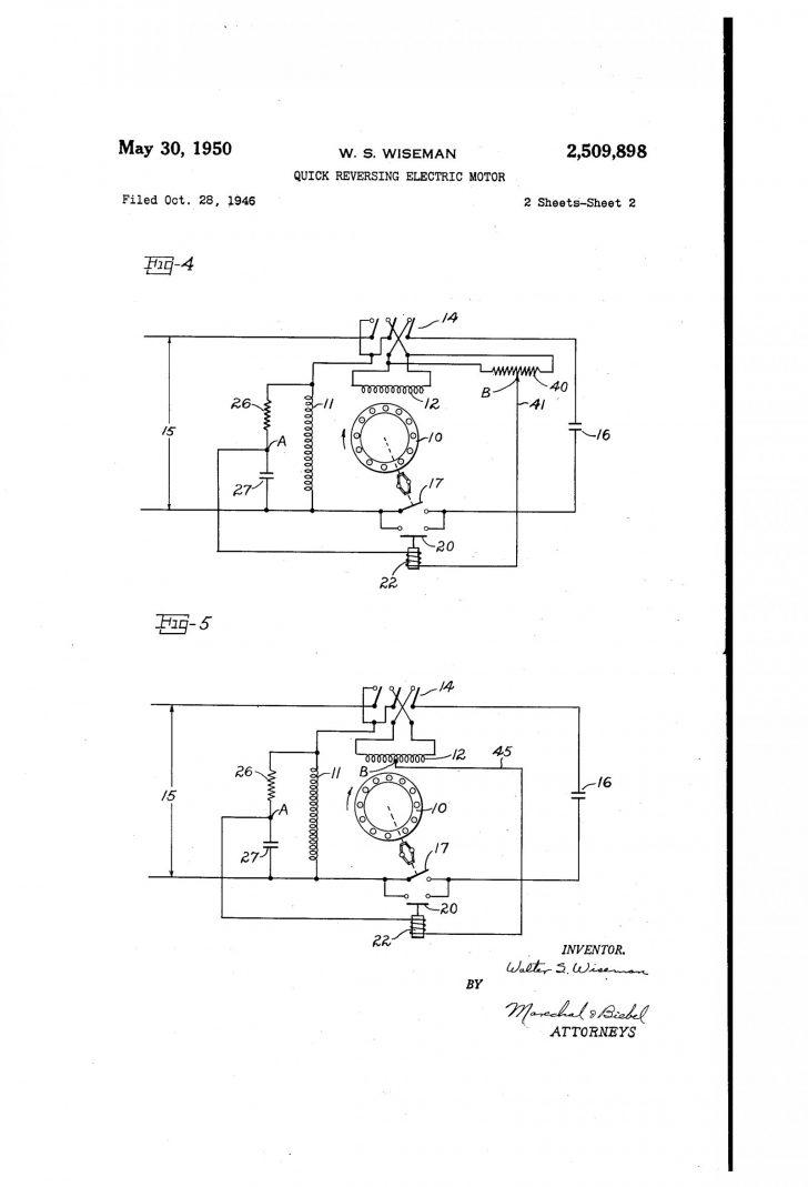 Motor Capacitor Wiring Diagram