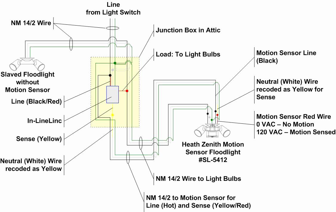 Best Wiring Diagram For Several Motion Sensor Light Beautiful - Motion Sensor Light Switch Wiring Diagram