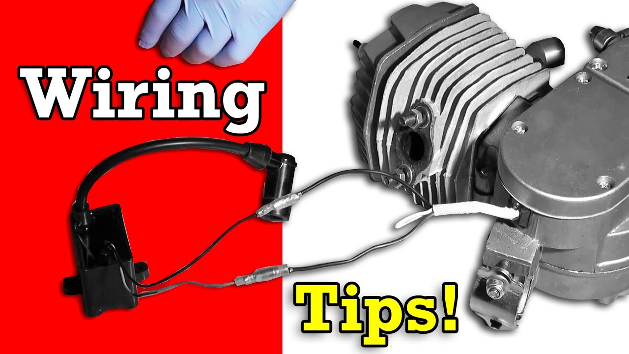 Bicycle Engine Kit Wiring Tips Troubleshooting - Youtube - Motorized Bicycle Wiring Diagram