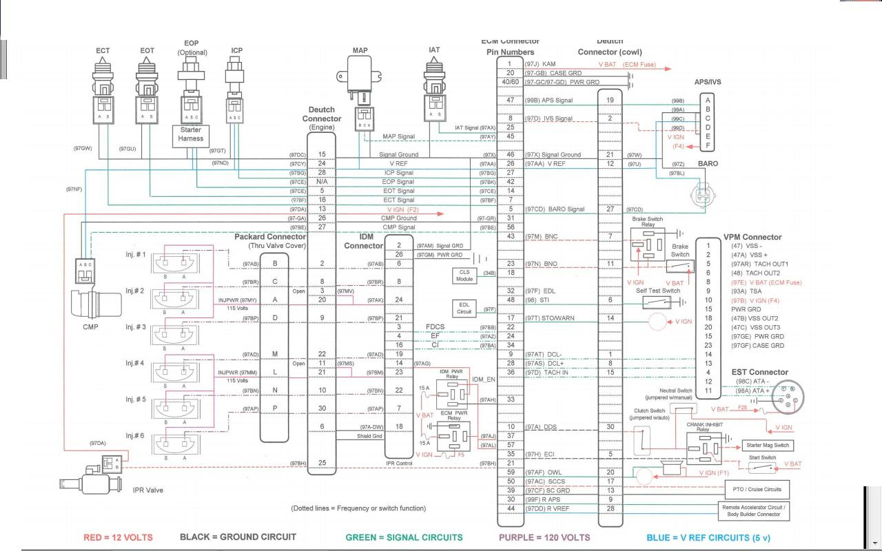 Blue Bird Bus Wiring Diagrams | Manual E-Books - Bluebird Bus Wiring Diagram
